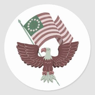 Patriot Eagle Stickers