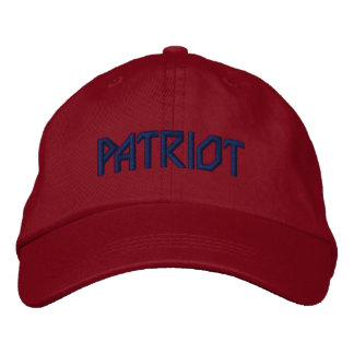 PATRIOT Embroidered Hat
