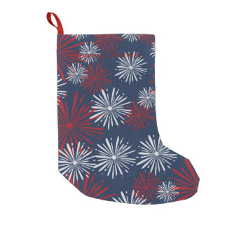 Patriot Fireworks Small Christmas Stocking