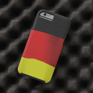 Patriot Germany Flag of German Democratic Republic Tough iPhone 6 Case