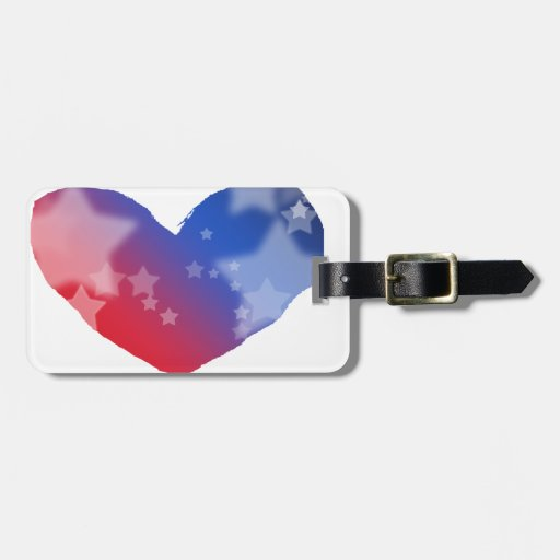 Patriot Heart Luggage Tags