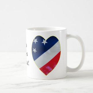 Patriot Heart Mugs