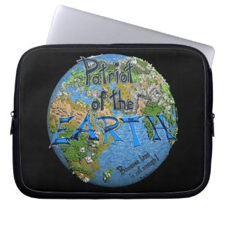Patriot OF the Earth Laptop Sleeve