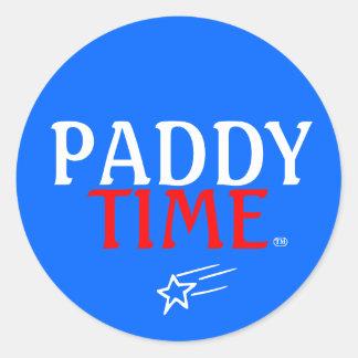 Patriot Paddy Classic Round Sticker