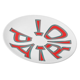 Patriot Party Plate