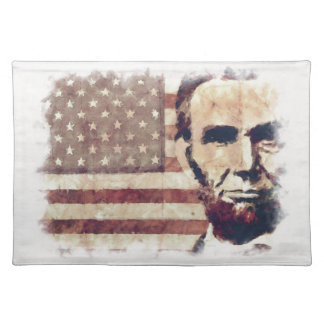 Patriot President Abraham Lincoln Placemats