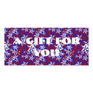 Patriot Stars custom Custom Rack Card