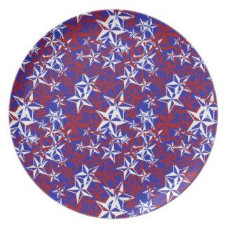 Patriot Stars Plates