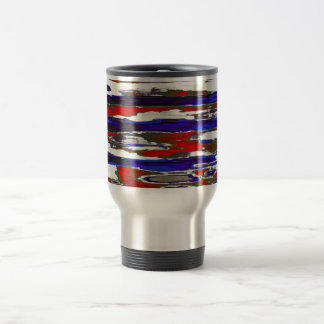 Patriotic - 15 oz stainless steel travel mug