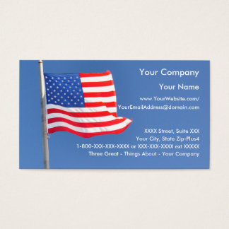 Patriotic 2 - business card template