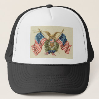 Patriotic 2 trucker hat