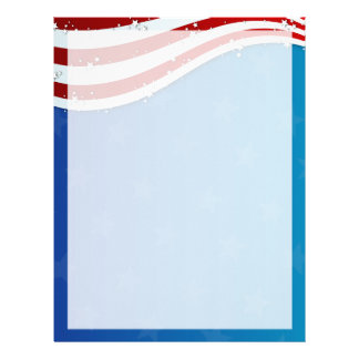 patriotic 4th of july paper