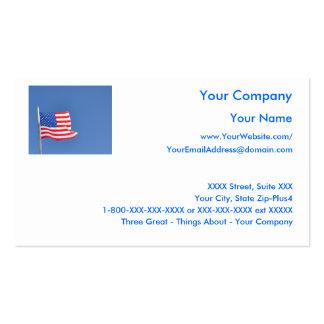 Patriotic 5 - business card template