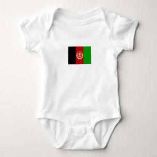 Patriotic Afghan Flag Baby Bodysuit