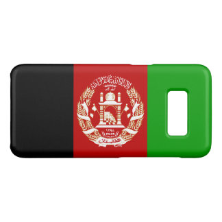 Patriotic Afghan Flag Case-Mate Samsung Galaxy S8 Case