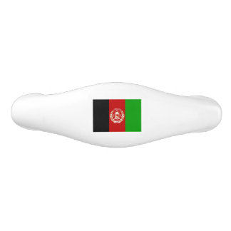 Patriotic Afghan Flag Ceramic Drawer Pull