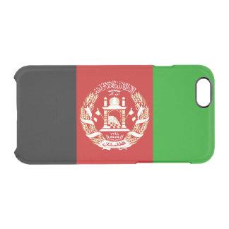 Patriotic Afghan Flag Clear iPhone 6/6S Case