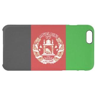 Patriotic Afghan Flag Clear iPhone 6 Plus Case