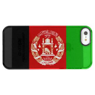 Patriotic Afghan Flag Clear iPhone SE/5/5s Case