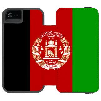 Patriotic Afghan Flag Incipio Watson™ iPhone 5 Wallet Case