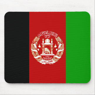 Patriotic Afghan Flag Mouse Pad