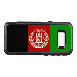 Patriotic Afghan Flag OtterBox Commuter Samsung Galaxy S8+ Case