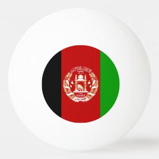 Patriotic Afghan Flag Ping Pong Ball