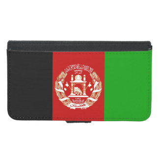 Patriotic Afghan Flag Samsung Galaxy S5 Wallet Case