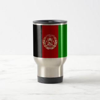Patriotic Afghan Flag Travel Mug