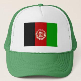 Patriotic Afghan Flag Trucker Hat