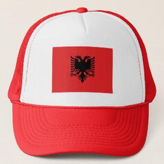 Patriotic Albanian Flag Trucker Hat