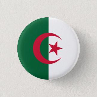 Patriotic Algerian Flag 1 Inch Round Button