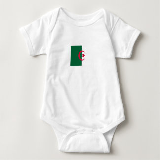 Patriotic Algerian Flag Baby Bodysuit