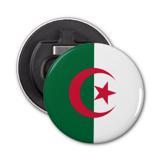 Patriotic Algerian Flag Bottle Opener