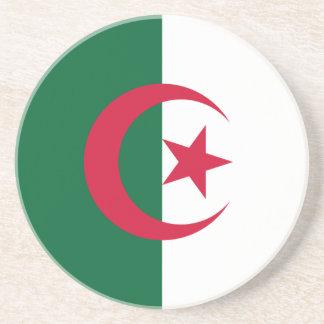 Patriotic Algerian Flag Coaster