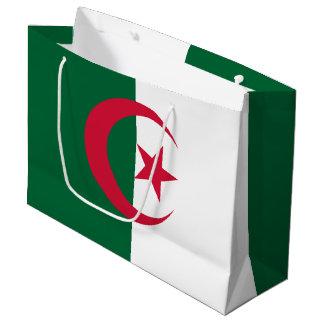 Patriotic Algerian Flag Large Gift Bag
