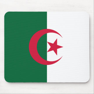 Patriotic Algerian Flag Mouse Pad