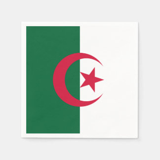 Patriotic Algerian Flag Napkin