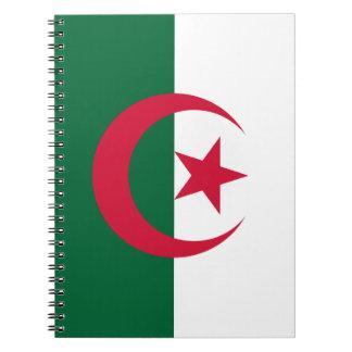 Patriotic Algerian Flag Notebook