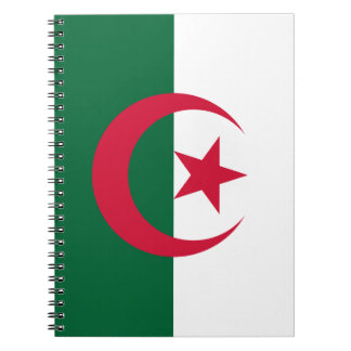Patriotic Algerian Flag Notebooks