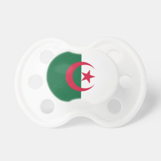 Patriotic Algerian Flag Pacifier