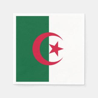 Patriotic Algerian Flag Paper Napkin
