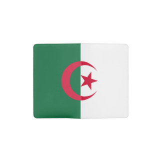 Patriotic Algerian Flag Pocket Moleskine Notebook