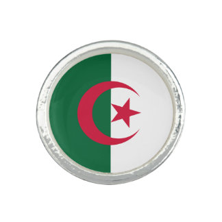 Patriotic Algerian Flag Ring