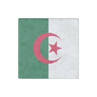 Patriotic Algerian Flag Stone Magnets