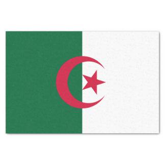 Patriotic Algerian Flag Tissue Paper