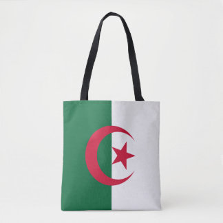 Patriotic Algerian Flag Tote Bag