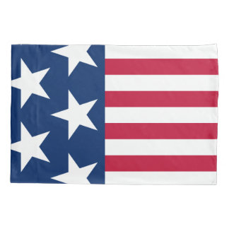 Patriotic America Flag Pillowcase