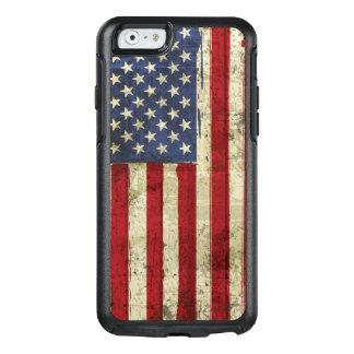 Patriotic America Grunge Flag OtterBox iPhone 6/6s Case