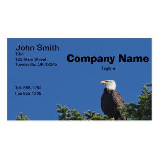 Patriotic American Bald Eagle Business Card